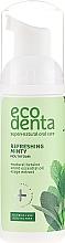 Парфюмерия и Козметика Освещаваща пяна-вода за уста с масло от мента и натурален бетаин - Ecodenta Mouthwash Refreshing Oral Care Foam