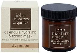 Парфюми, Парфюмерия, козметика Хидратираща и тонизираща маска за лице - John Masters Organics Calendula Hydrating & Toning Mask