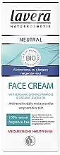 Парфюмерия и Козметика Дневен крем за лице - Lavera Neutral Face Cream