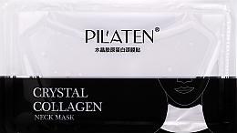 Парфюмерия и Козметика Колагенова маска за шия - Pilaten Collagen Crystal Neck Mask