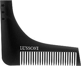 Парфюмерия и Козметика Гребенче за брада - Lussoni BC 600 Barber Comb
