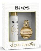 Парфюми, Парфюмерия, козметика Bi-Es D'Oro Amore - Комплект (edp/100ml + deo/150ml)
