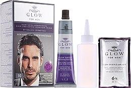 Парфюми, Парфюмерия, козметика Боя за коса - Kallos Cosmetics Glow Long Lasting Cream Hair Colour Man