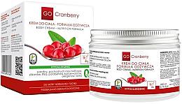 Парфюмерия и Козметика Подхранващ крем за тяло - GoCranberry