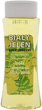 Хипоалергенен душ гел с живовляк и дива ябълка - Bialy Jelen Hypoallergenic Shower Gel With Plantain And Wild Apple Tree