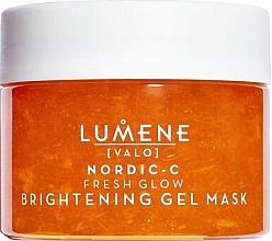 Парфюмерия и Козметика Изсветляваща гел-маска за лице - Lumene Valo Nordic-C Fresh Glow Brightening Gel Mask