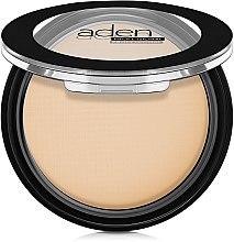 Парфюмерия и Козметика Компактна матова пудра за лице - Aden Cosmetics Silky Matt Compact Powder