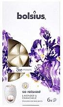 """Парфюмерия и Козметика Ароматен восък """"Лавандула и лайка"""" - Bolsius True Moods So Relaxed Lavender & Chamomile"""