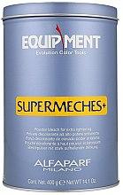 Парфюми, Парфюмерия, козметика Изсветляваща пудра за коса - Milano Equipment Supermeches Extra Lightening Bleach Powder