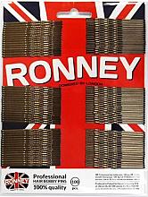 Парфюми, Парфюмерия, козметика Фиби за коса, бронзови 60 мм, 100 бр. - Ronney Bronze Hair Bobby Pins