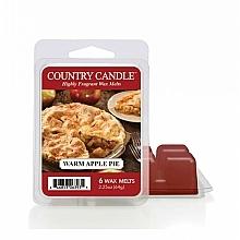Парфюмерия и Козметика Ароматен восък - Country Candle Warm Apple Pie Wax Melt