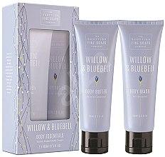 Парфюмерия и Козметика Комплект - Scottish Fine Soaps Willow & Bluebell (sh/gel/100ml + b/oil/100ml)