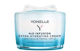 Парфюми, Парфюмерия, козметика Интензивно овлажняващ дневен крем за лице - Yonelle H2O Infusion Extra Hydrating Cream SPF10