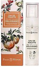 Парфюмерия и Козметика Frais Monde Pomegranate Flowers - Тоалетна вода