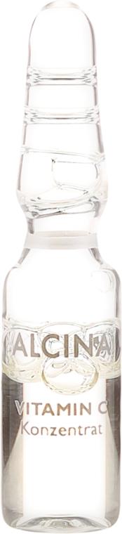Ампули за лице - Alcina Hyaluron 2.0 & Vitamin C Ampulle — снимка N2