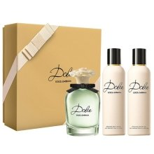 Парфюми, Парфюмерия, козметика Dolce & Gabbana Dolce - Комплект (edp/75ml + b/lot/100ml + sh/gel/100ml)