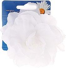 "Парфюми, Парфюмерия, козметика Щипка за коса ""White Collection"", бяла роза - Top Choice"