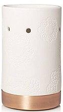 Парфюмерия и Козметика Арома лампа - Yankee Candle Floral Ceramic