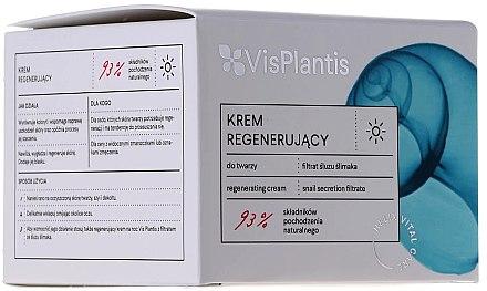 Дневен подмладяващ крем с екстракт от охлюв - Vis Plantis Helix Vital Care Rejuvenating Day Cream — снимка N2