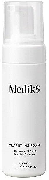 Почистваща пяна за мазна и проблемна кожа - Medik8 Clarifying Foam — снимка N1