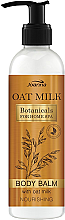 Парфюмерия и Козметика Подхранващ балсам за тяло - Joanna Botanicals Oat Milk Body Balm Lotion
