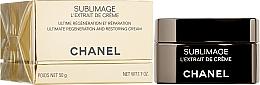 Парфюмерия и Козметика Възстановяващ и регенериращ крем за лице, шия и деколте - Chanel Sublimage L'extrait De Creme