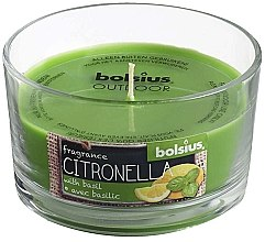 """Парфюми, Парфюмерия, козметика Ароматна свещ в чаша """"Citronella Garden Basilic"""", 62/106 мм - Bolsius Candle"""