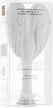 Парфюмерия и Козметика Четка за коса - Tangle Angel 2.0 Detangling Brush White/Grey (19 см)