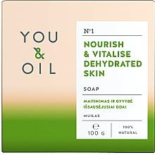 Парфюмерия и Козметика Подхранващ сапун за дехидратирана кожа - You & Oil Nourishing Soap for Dehydrated Skin
