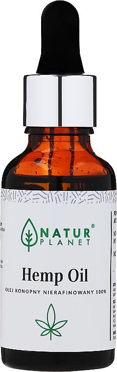 Конопено масло, нерафинирано - Natur Planet Hemp Oil