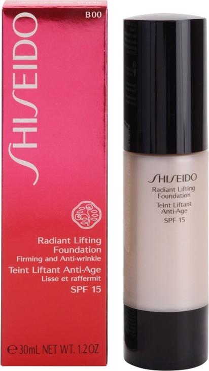 Тонизиращ фон дьо тен с повдигащ ефект - Shiseido Radiant Lifting Foundation SPF 15