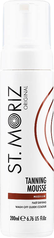 Мус-атобронзант - St.Moriz Instant Self Tanning Mousse Medium