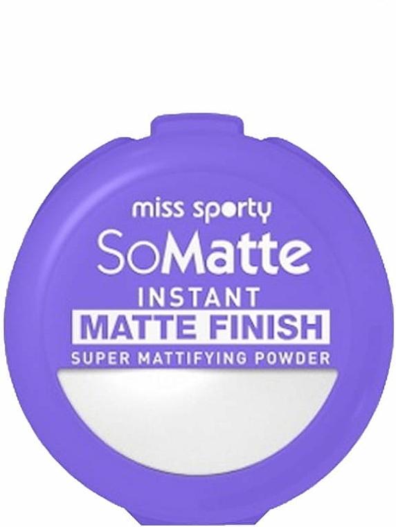 Пудра за лице - Miss Sporty So Matte Super Mattifying Powder