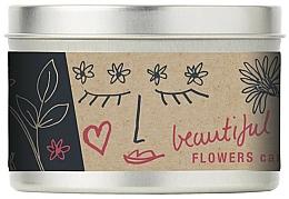 Парфюмерия и Козметика Ароматна свещ - Bath House Scented Candle Wild Flower