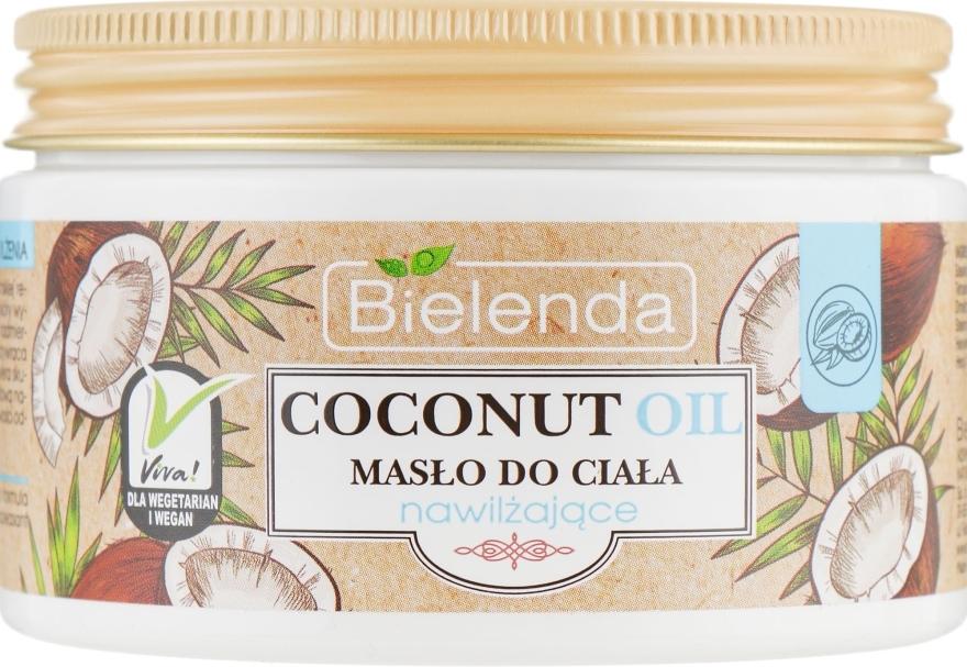 Хидратиращо масло за тяло - Bielenda Coconut Oil Moisturizing Body Butter — снимка N2