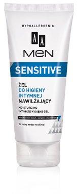 Овлажняващ гел за интимна хигиена - AA Men Sensitive Moisturizing Gel For Intimate Hygiene  — снимка N1