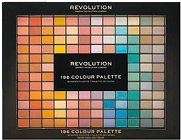 Парфюми, Парфюмерия, козметика Палитра сенки за очи, 196 цвята - Makeup Revolution Xmas 2019, 196 Colour Palette