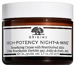Парфюмерия и Козметика Хидратиращ нощен крем за лице - Origins High-Potency Night-A-Mins Resurfacing Cream