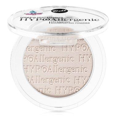 Хипоалергенна пудра хайлайтър за лице и тяло - Bell HypoAllergenic Face&Body Illuminating Powder