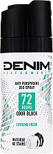 Парфюмерия и Козметика Спрей-дезодорант - Denim Deo Extreme Fresh