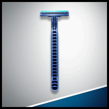 Комплект еднократни самобръсначки - Gillette Blue II Plus Chromium — снимка N8