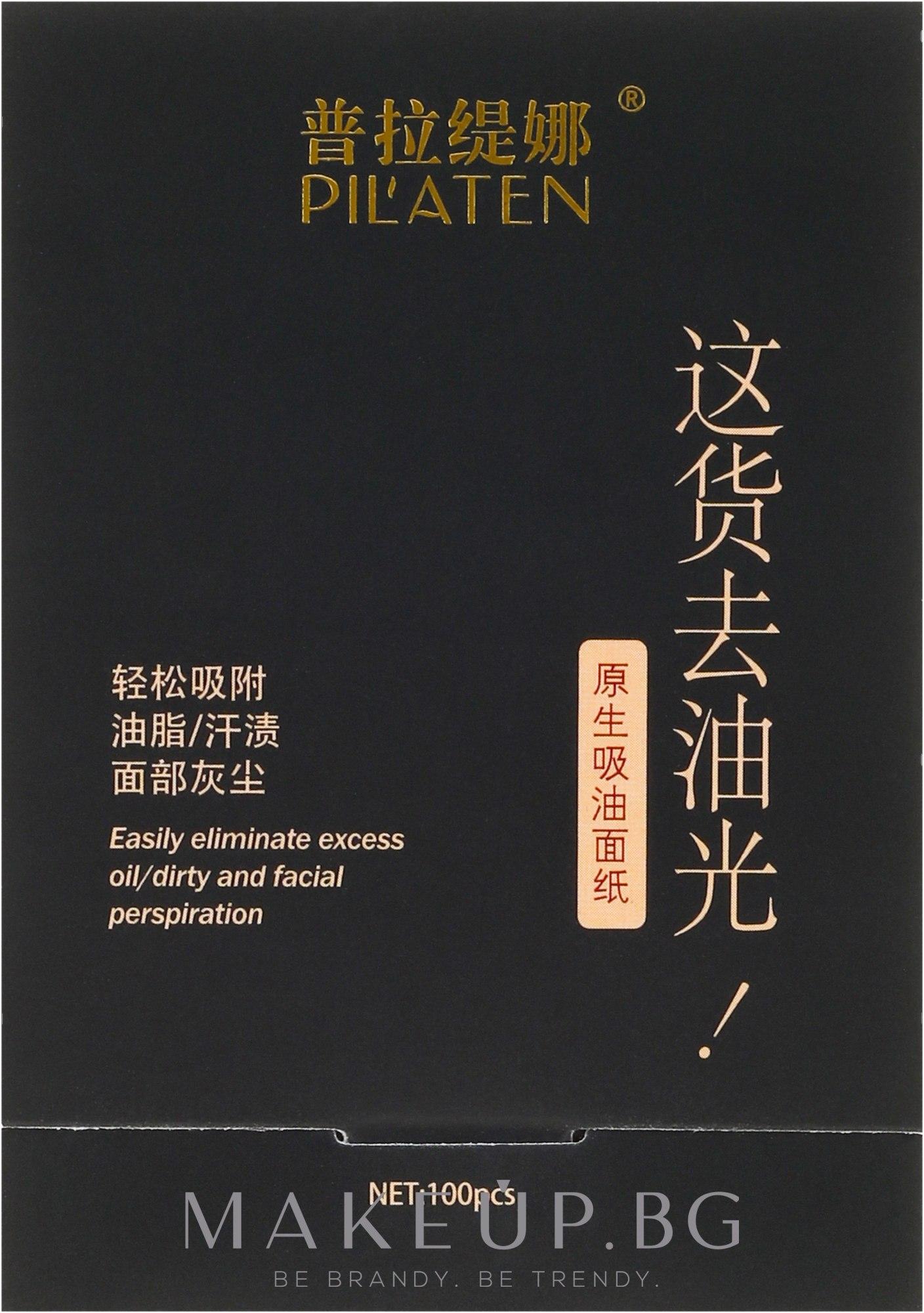 Матиращи листчета за лице - Pil'aten Papeles Matificantes Native Blotting Paper — снимка 100 бр