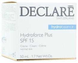 Парфюмерия и Козметика Ултра овлажняващ дневен крем c SPF 15 - Declare Hydroforce Plus SPF 15 Cream
