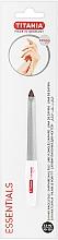 Парфюмерия и Козметика Извита пила за нокти с микросапфир, размер 5 - Titania Essentials Soligen Saphire Nail File