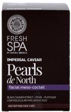 """Парфюми, Парфюмерия, козметика Мезо коктейл за лице """"Северни перли"""" - Natura Siberica Fresh Spa Imperial Caviar Pearls De North"""