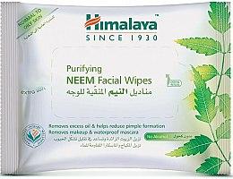 Парфюмерия и Козметика Почистващи кърпички за лице - Himalaya Purifying Neem Facial Wipes