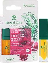 Парфюмерия и Козметика Защитно масло за устни - Farmona Herbal Care Lip Oil