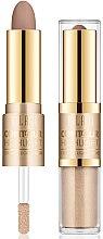 Парфюми, Парфюмерия, козметика Хайлайтър-контур за лице - Milani Contour & Highlight Cream & Liquid Duo