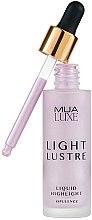 Парфюмерия и Козметика Течен хайлайтър - MUA Luxe Light Lustre Liquid Highlight