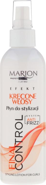 Лосион за къдрава коса - Marion Final Control Lotion